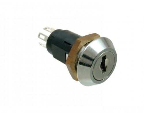 Mini Inline Key Switch Double Pole 5025